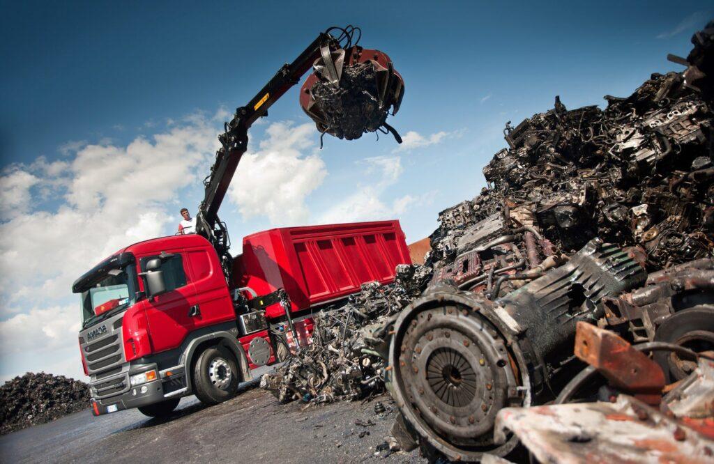 Услуги по вывозу металлолома